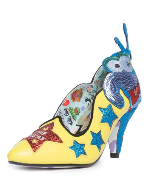 Irregular Choice Leather The Muppets X The Great Gonzo