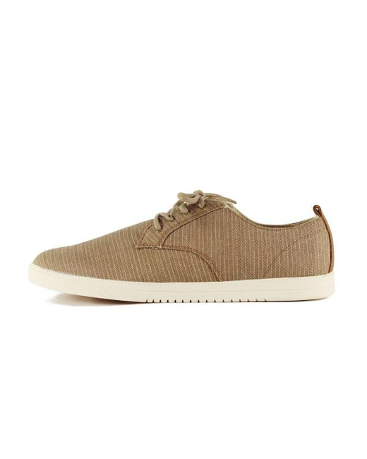 CLAE - Multicolor Ellington Walnut Herringbone Canvas Sneakers for Men - Lyst