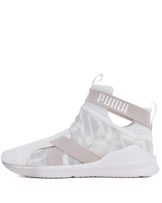 PUMA - White Fierce Strap Swan - Lyst