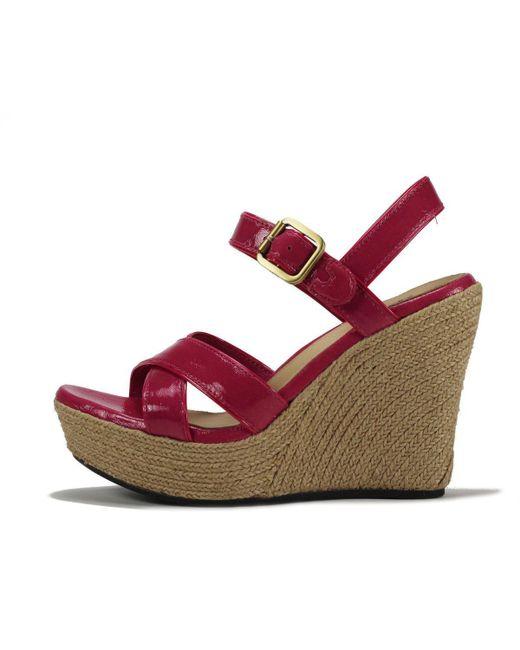 Ugg - Jackilyn Pink Sandals - Lyst ...