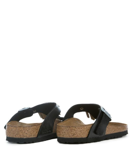 00a10cd67ad ... Birkenstock - Multicolor Gizeh Graceful Licorice Fringe Sandals - Lyst  ...