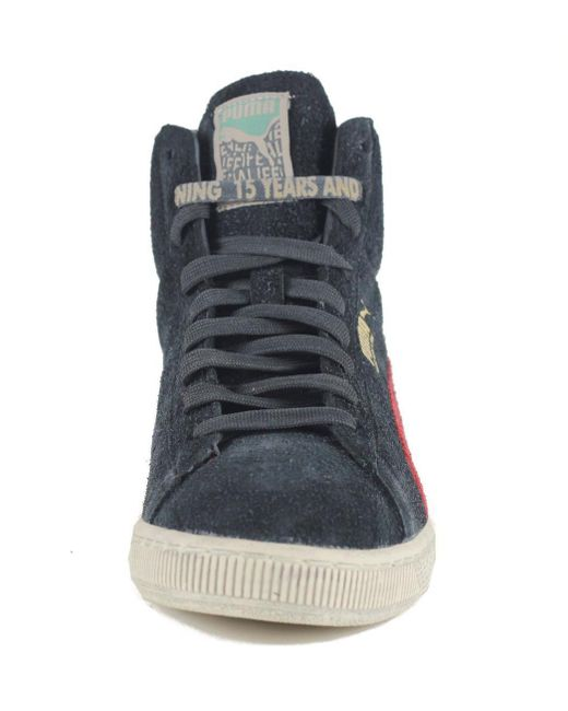 code promo f0863 964f7 Men's Suede Mid X Alife Black Sneaker