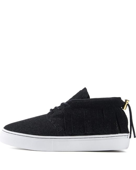 Clear Weather One O One Black Stingray Chukka Sneaker for men