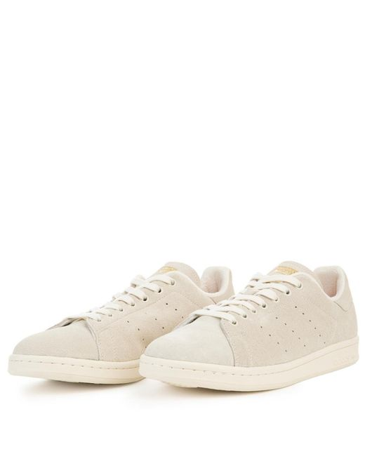 ... Adidas - Stan Smith Off White Sneakers for Men - Lyst ...