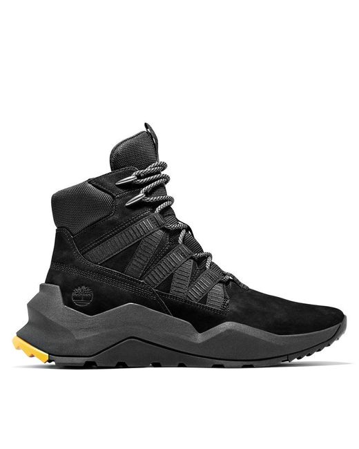 timberland homme montante noir
