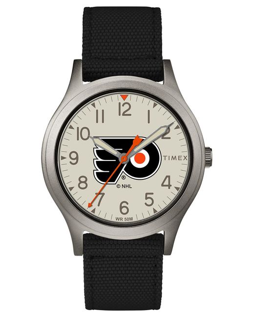 Timex Multicolor Watch Ringer Philadelphia Flyers Gray/black/other