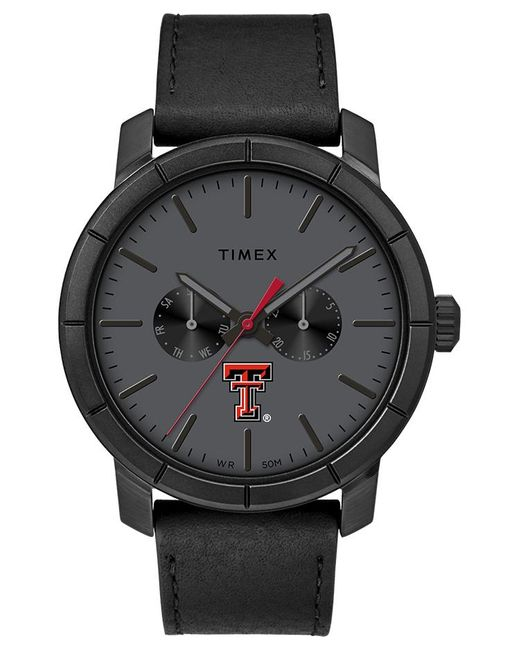 Timex Watch Home Team Texas Tech Red Raiders Black/gray for men