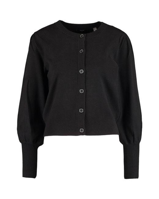 TK Maxx brand Black Puff Sleeve Cardigan