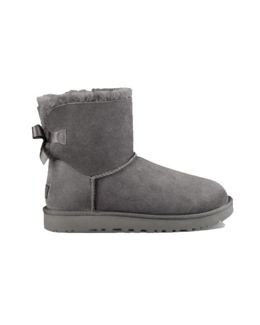Ugg Mini Bailey Bow Ii Boots 1016501 in het Gray