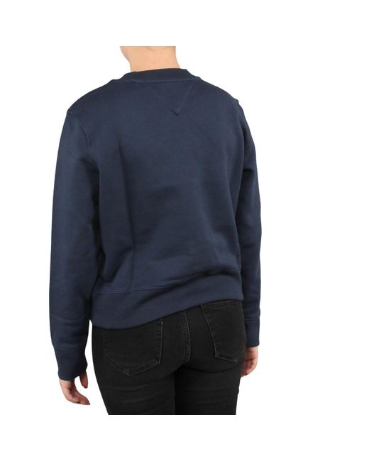 Tommy Hilfiger Tjw Tommy Flag Crew in het Blue
