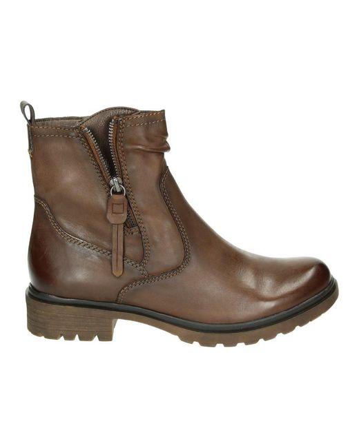Tamaris Dames Boots 043380 in het Brown