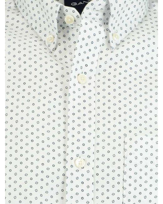Gant D1. Printed Cherry Blossom Reg 3009570/110 in het White voor heren