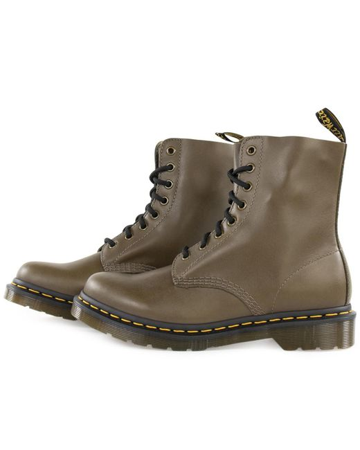 Dr. Martens 1460 Pascal Wanawa Olive Chunky Glitter in het Green