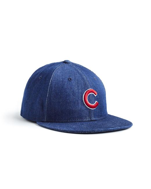info for f7730 98f1b NEW ERA HATS - Blue Mlb Chicago Cubs Cap In Cone Denim for Men - Lyst ...