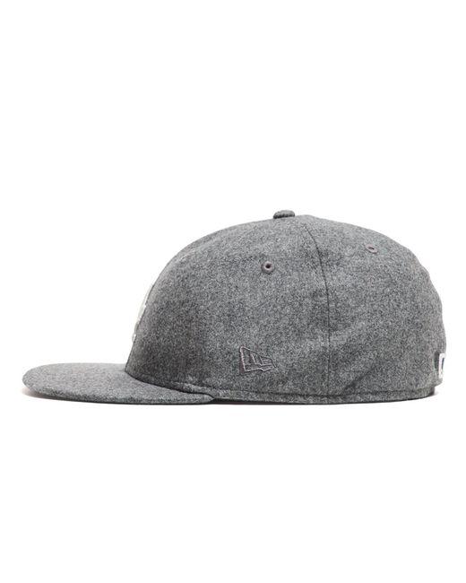 NEW ERA HATS - Gray Exclusive La Dodgers Hat  amazing selection 2ea5d ac327 New  Era Hats Exclusive Ny Yankees Hat In Italian Barberis Grey Wool ... 517907502e22