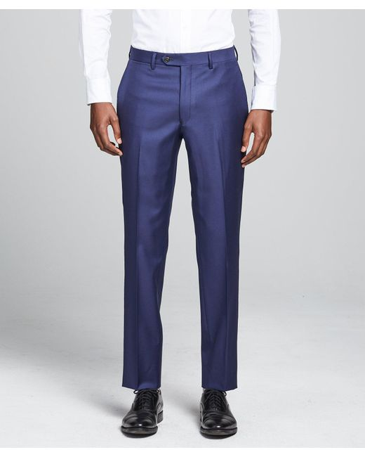 Todd Snyder Sutton Suit Pant In Italian Blue Wool Twill for men