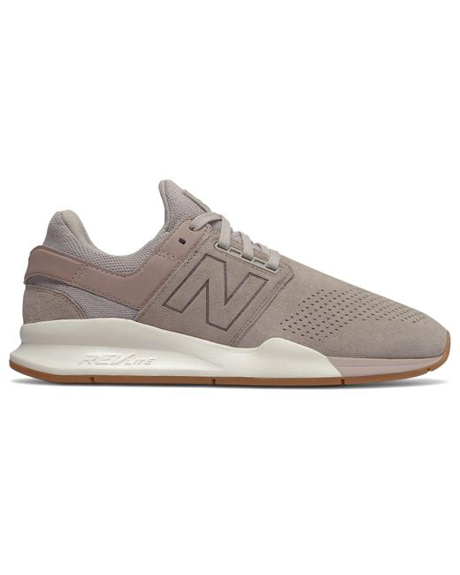 New Balance Gray 247 Luxe In Grey for men