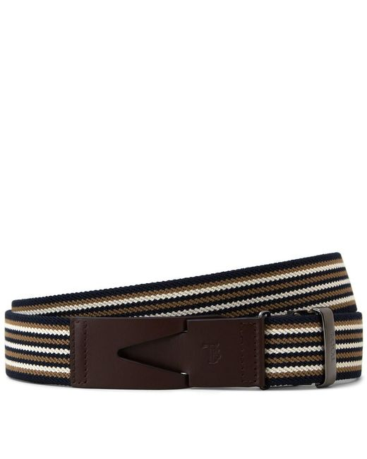 Tod's - Multicolor Canvas And Leather Belt for Men - Lyst