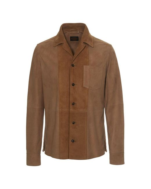 Tod's - Natural Suede Jacket for Men - Lyst
