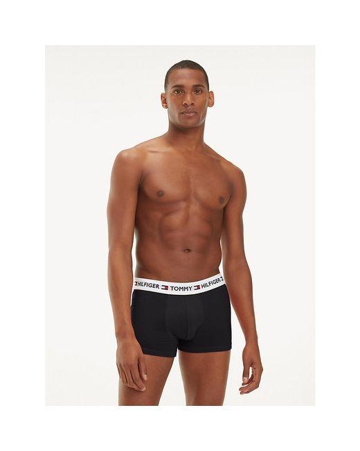 Tommy Hilfiger Black Authentic Cotton Boxer for men
