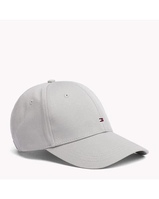 Tommy Hilfiger Gray Classic Baseball Cap