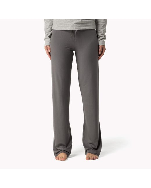 Tommy Hilfiger | Gray Modal Stretch Sweatpants | Lyst
