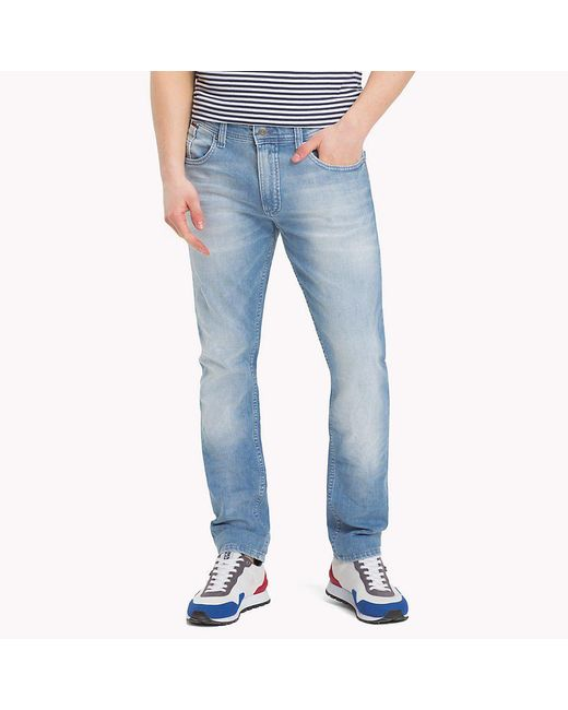 Tommy Hilfiger Blue Original Tapered Denim Jeans for men