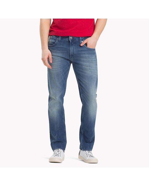89890ef7 Tommy Hilfiger - Blue Original Tapered Denim Jeans for Men - Lyst ...
