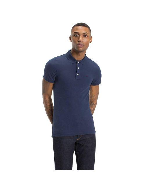 Tommy Hilfiger Blue Original Pique Polo Shirt for men