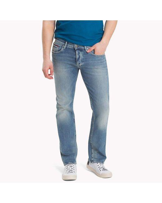 Tommy Hilfiger Blue Faded Slim Fit Jeans for men