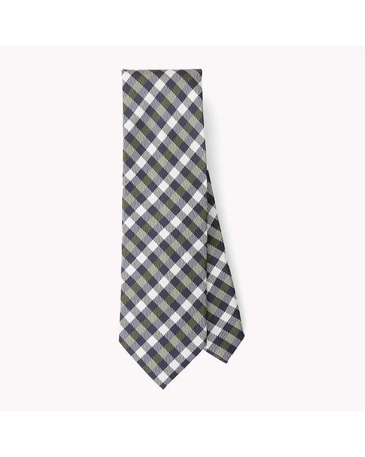 Tommy Hilfiger | Multicolor Checkered Silk Tie for Men | Lyst
