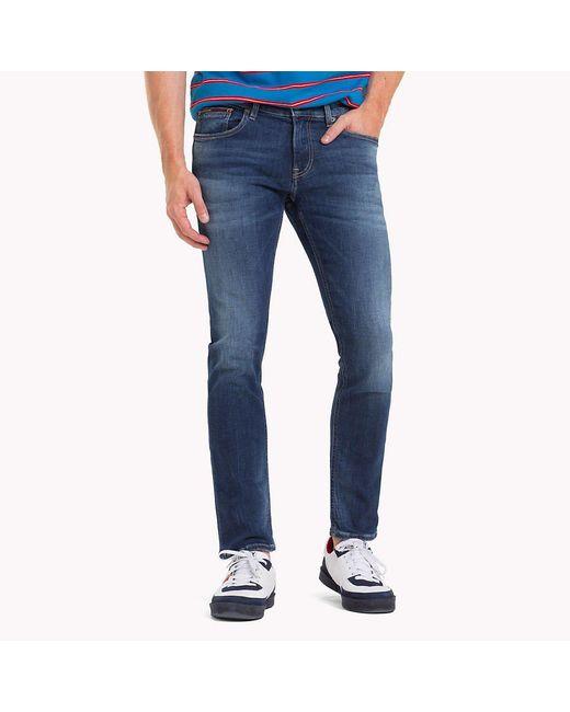 26a634b0 Tommy Hilfiger - Blue Scanton Dynamic Stretch Jeans for Men - Lyst ...