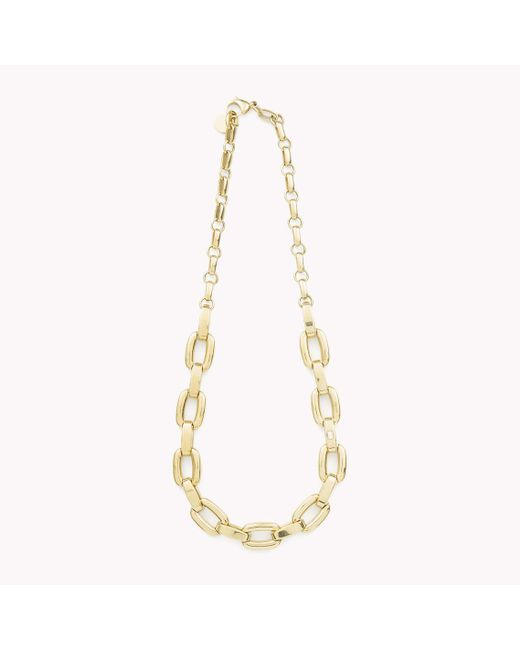 Tommy Hilfiger | Metallic Link Necklace | Lyst