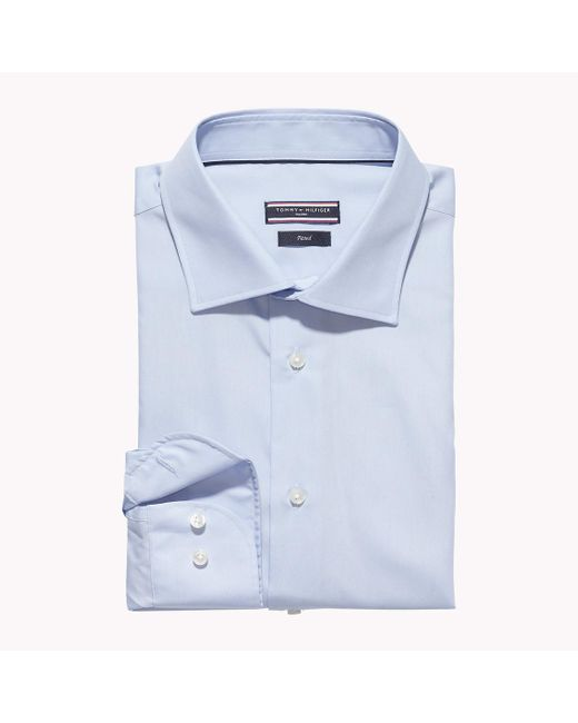 Tommy Hilfiger | Blue Johnny Fitted Shirt for Men | Lyst