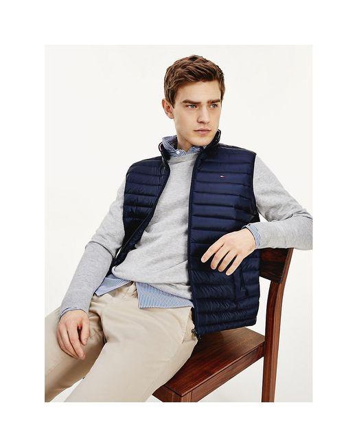 Tommy Hilfiger Blue Core Packable Down Vest for men