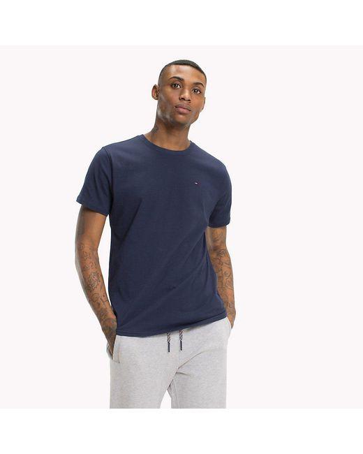 Tommy Hilfiger Blue Regular Fit Crew T-shirt for men