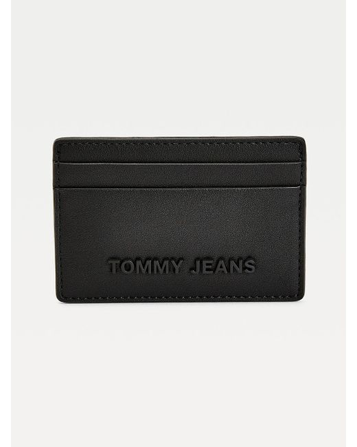 Porte-cartes Essential Tommy Hilfiger en coloris Black