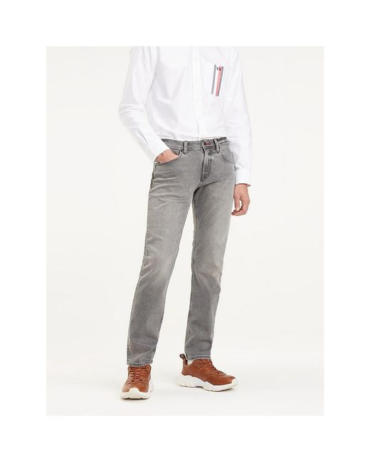 Tommy Hilfiger Multicolor Bleecker Faded Slim Fit Jeans for men