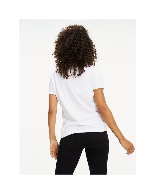 Tommy Hilfiger T-shirt Tjw Original Soft Jersey Tee in het White
