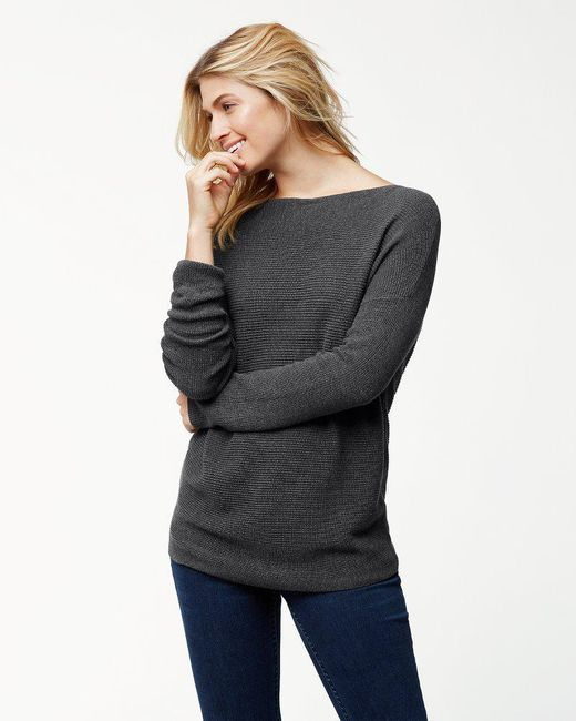 Tommy Bahama - Gray Pickford Ribbed Sweater - Lyst