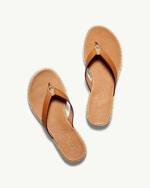 Tommy Bahama Multicolor Relaxology® Ionna Leather Flip Flops