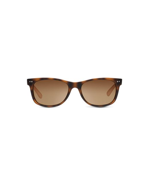 4338a0f9a6ad Lyst - TOMS Beachmaster Matte Tortoise Polarized in Brown for Men ...