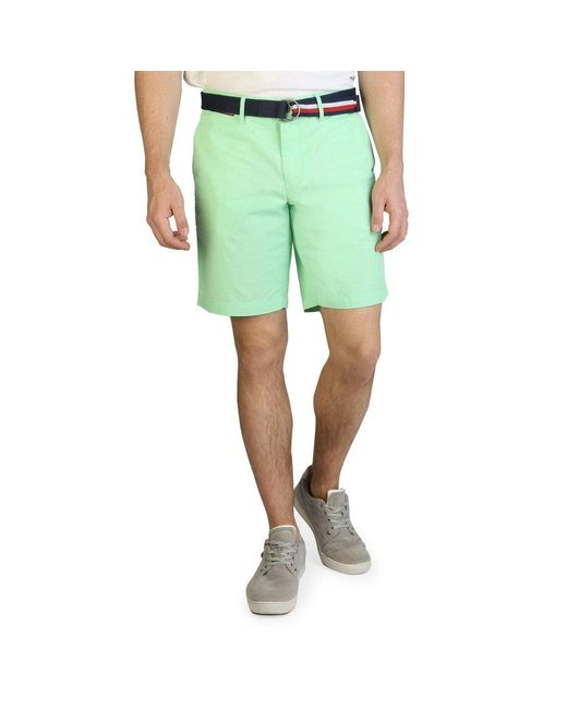 Tommy Hilfiger Mint Green Shorts for men