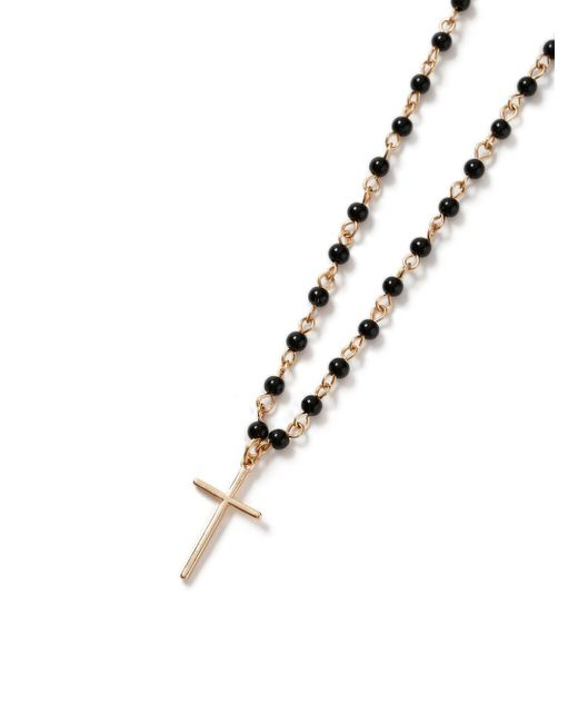 Topman | Black Rosary Necklace* for Men | Lyst