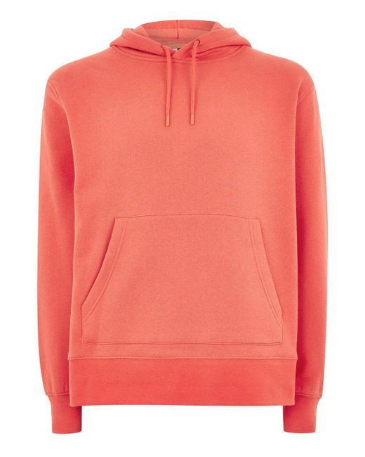 8b80dab2 ... Topman - Red Classic Hoodie for Men - Lyst ...