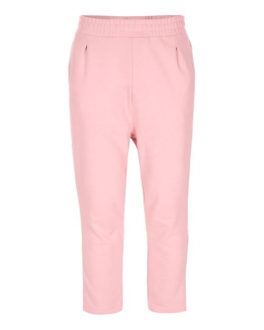 Hype | Pale Pink Cropped Wide Leg Joggers* for Men | Lyst