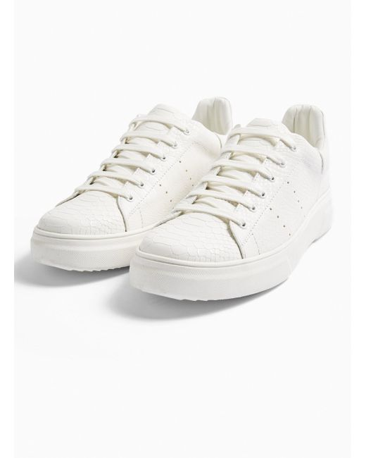 TOPMAN Lace Chunky Drone Patent Trainer