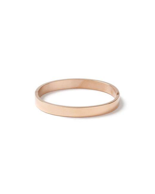 Topman - Metallic Rose Gold Bangle Bracelet for Men - Lyst