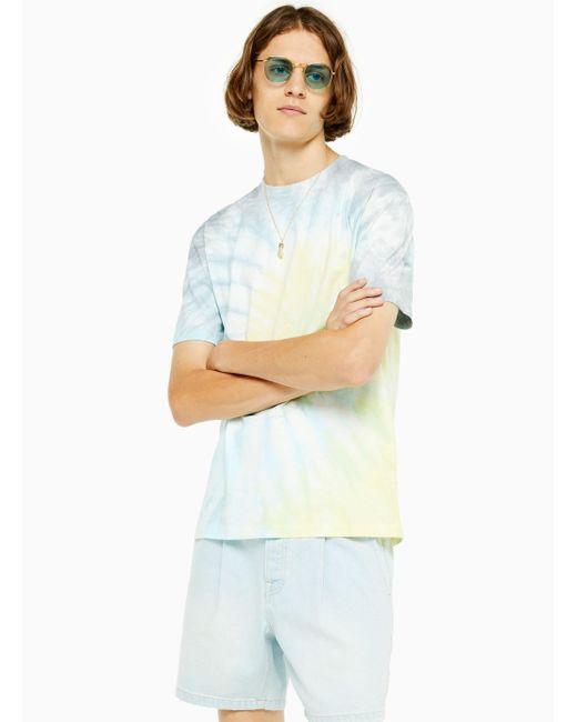 Topman White Extreme Wash T-shirt for men