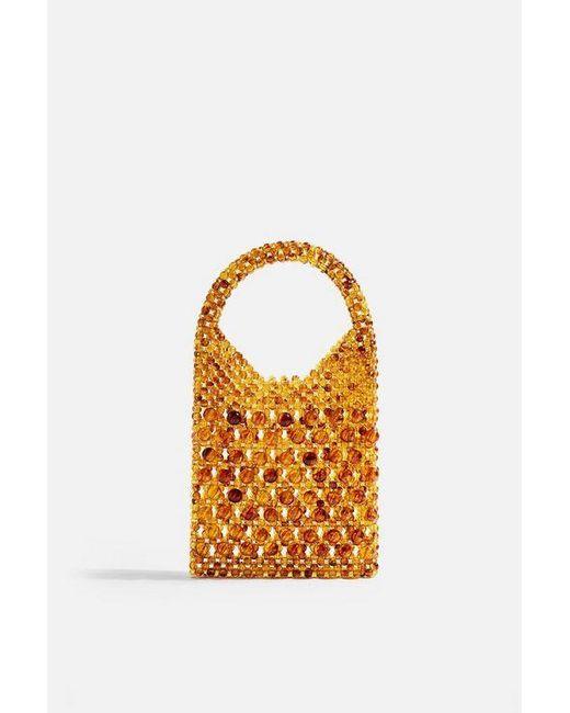TOPSHOP Multicolor Goldie Beaded Grab Bag